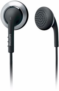 Philips SHE2640 black/silver