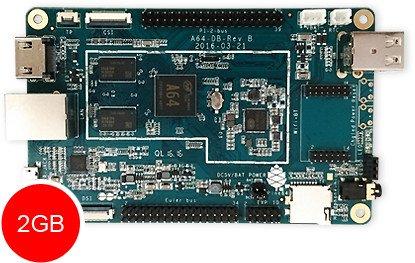 Pine A64+ 2GB, Bundle (PA642GB/WPBT-retail)