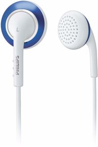 Philips SHE2642 white/blue