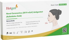 Hotgen Novel Coronavirus 2019-nCoV Antigen Schnelltest, 1 Stück