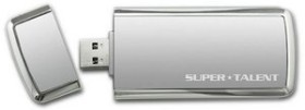 Super Talent SuperCrypt 128GB, USB-A 3.0 (ST3U28SCS)