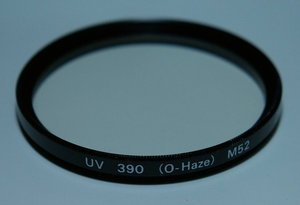 Hama Filter UV 390 (O-Haze) 52mm (70052) -- © bepixelung.org