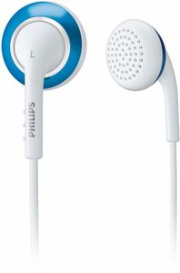 Philips SHE2643 white/blue