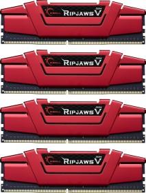 G.Skill RipJaws V rot DIMM Kit 32GB, DDR4-3600, CL19-20-20-40 (F4-3600C19Q-32GVRB)