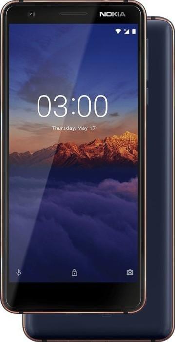 Nokia 3.1 Dual-SIM 16GB blau
