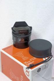 Sony 16mm 2.8 fisheye black (SAL-16F28)