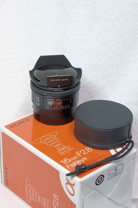 Sony 16mm 2.8 fisheye black (SAL-16F28) -- © bepixelung.org