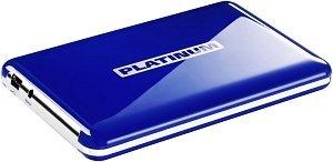 BestMedia Platinum MyDrive blue 1TB, USB 2.0