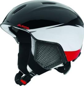Alpina Carat LX Helm schwarz/weiß/rot (Junior) (A9081.X.50)