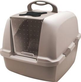 Catit cat litter box with roof, jumbo, beige (50695)