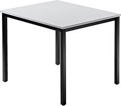 Hammerbacher Meeting D-Serie DQ08/5/D, grau/schwarz, Konferenztisch