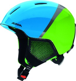 Alpina Carat LX Helm grün/blau/grau (Junior) (A9081.X.72)