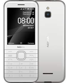Nokia 8000 4G Dual-SIM opal white