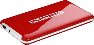BestMedia Platinum MyDrive red 1TB, USB 2.0