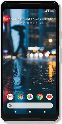 Google Pixel 2 XL 128GB schwarz/weiß