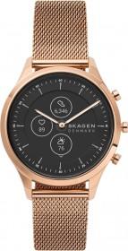 Skagen Hybrid Smartwatch HR Jorn 38mm rosegold mit Milanaise-Armband rosegold (SKT3100)