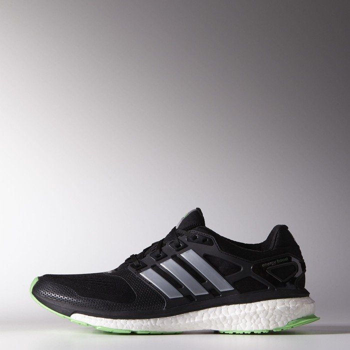 new product f1571 60982 adidas Energy Boost ESM core blacksilver metflash green (męskie) (B44280)