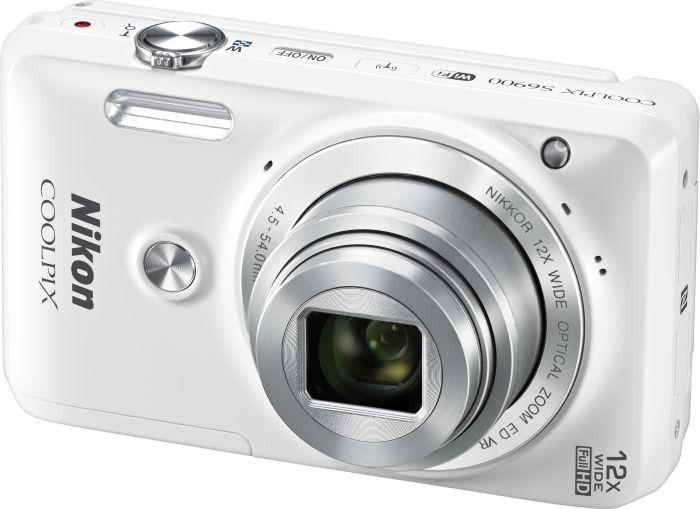 Nikon Coolpix S6900 weiß (VNA721E1)