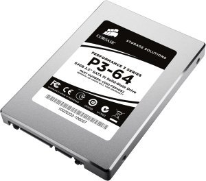 Corsair Performance 3 P3-64 64GB, SATA (CSSD-P364GB2-BRKT)