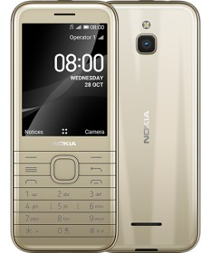 Nokia 8000 4G Dual-SIM cintrine gold