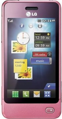 LG Electronics GD510 Pop pink -- via Amazon Partnerprogramm