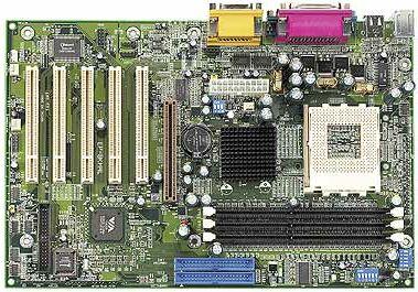 EPoX EP-8KHAL+, KT266A, UDMA 133 (DDR)