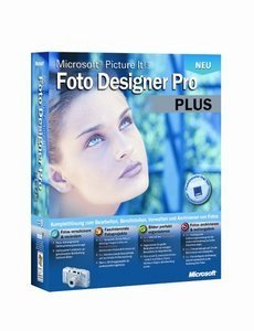 Microsoft: Picture It Foto Designer Pro Plus 9.0 (englisch) (PC) (S83-00018)