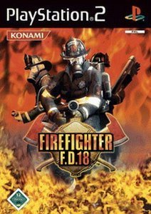 Firefighter F.D.18 (German) (PS2)