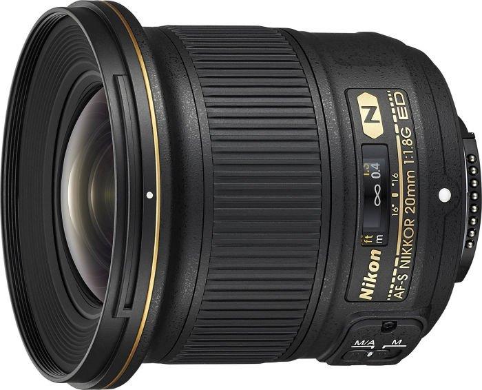 Nikon AF-S 20mm 1.8G ED black (JAA138DA)