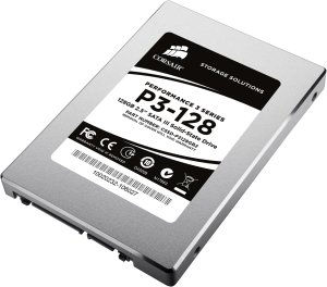 "Corsair Performance 3 Series P3-128, 128GB, 2.5"", SATA 6Gb/s (CSSD-P3128GB2-BRKT)"