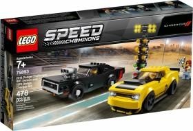 LEGO Speed Champions - 2018 Dodge Challenger SRT Demon und 1970 Dodge Charger R/T (75893)