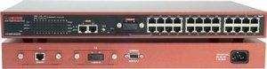 Longshine LCS-883R-SW2402SX, Gigabit switch, 24x RJ-45 10/100, 2x 1000Base-SX, rackmount