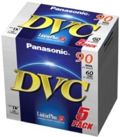 Panasonic AY-DVM60FE miniDV cassette, 5-pack