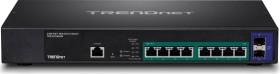 TRENDnet TPE desktop 2.5G Smart switch, 8x RJ-45, 2x SFP+, 240W PoE+ (TPE-30102WS)