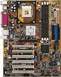 ASUS P4B533-V, i845G, VGA, Audio (CMI-8738), LAN (DDR)