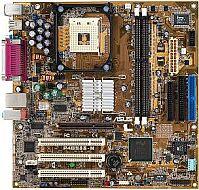 ASUS P4B533-M, i845E, audio (CMI-9738), LAN, µATX (DDR)