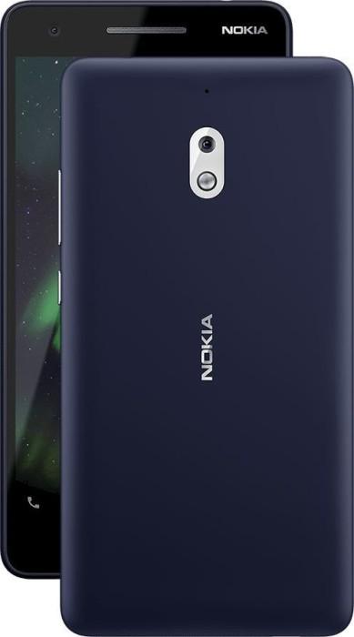 Nokia 2.1 Dual-SIM blau/silber