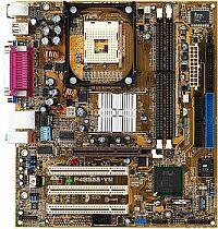 ASUS P4B533-VM, i845G, VGA, audio (CMI-8738), LAN, µATX (DDR)