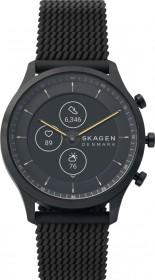 Skagen Hybrid Smartwatch HR Jorn 42mm schwarz mit Silikonarmband schwarz (SKT3001)