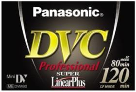 Panasonic AY-DVM80YE MiniDV-Kassette