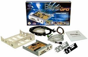 Soyo BayOne UFO USB 2.0 card reader
