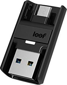 Leef Bridge 3.0 16GB, USB-A 3.0/USB 3.0 Micro-B (LB300KK016E6U)