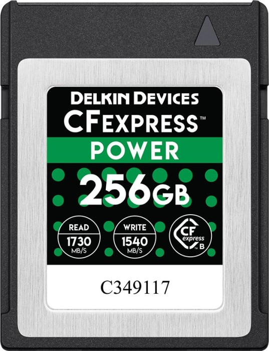 Delkin Power R1730/W1430 CFexpress 1.0 Type B 256GB (DCFX1-256)