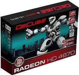 GeCube Radeon HD 4670, 512MB DDR3, VGA, DVI, S-Video (GC-AHD4670XTG3-E3)