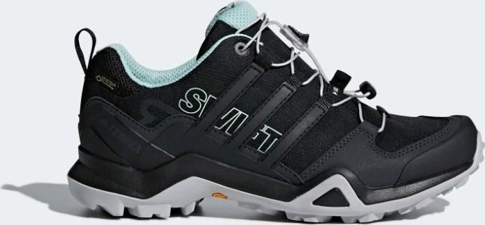 adidas TERREX Swift R2 GTX Outdoor Mid Shoes Damen core blackcore blackash green