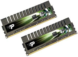 Patriot eXtreme Performance Gamer Series DIMM Kit  8GB PC3-10667U CL9-9-9-24 (DDR3-1333) (PGS38G1333ELKA)