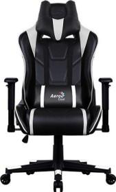 AeroCool AC220 AIR Gamingstuhl, schwarz/weiß (AC220AIR-BW)
