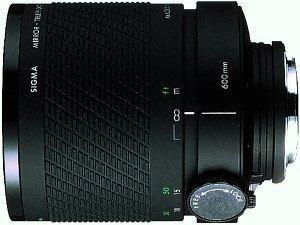 Sigma MF 600mm 8.0 Spiegel für Sony/Konica Minolta schwarz
