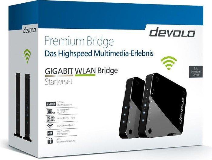 devolo Gigabit WLAN Bridge Starterset (9964)