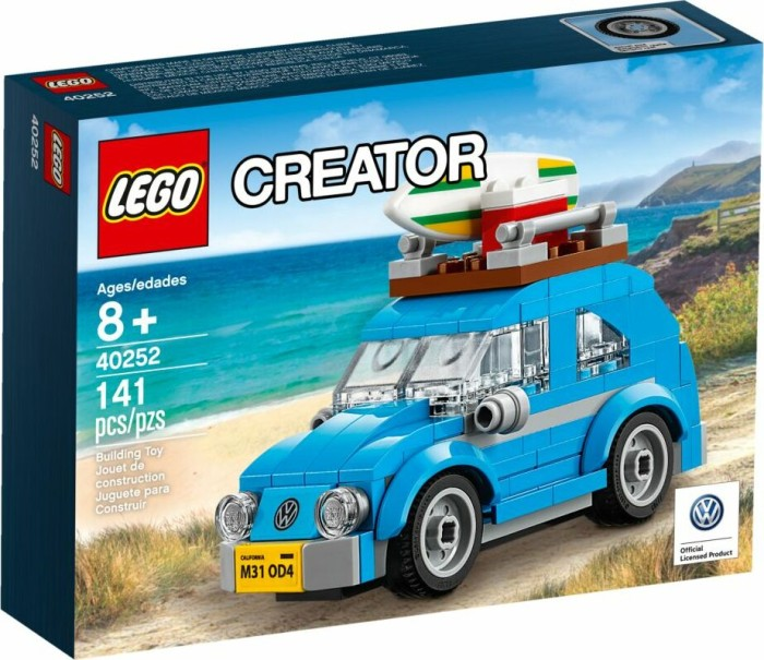 lego creator vw mini kaefer 40252 ab 12 87 2019. Black Bedroom Furniture Sets. Home Design Ideas
